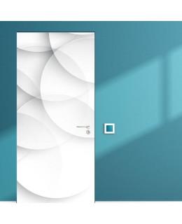 3D Сфери Light - стикер за врата