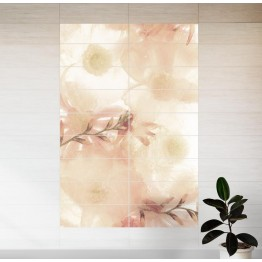 Водоустойчив фото арт Анемони - правоъгълни плочки