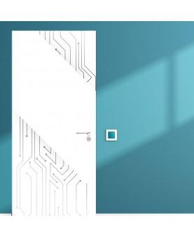 New Technology - стикер за врата