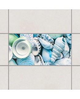 Морска палитра - деко стикери за плочки