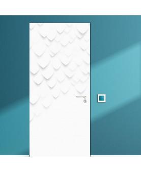 3D Фрагмент Fish - стикер за врата
