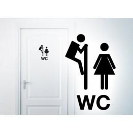 Mann | Frau - WC