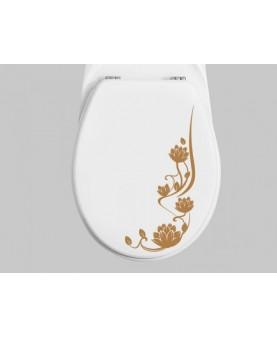 Орнамент за тоалетна чиния