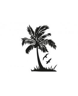 Палма с птици