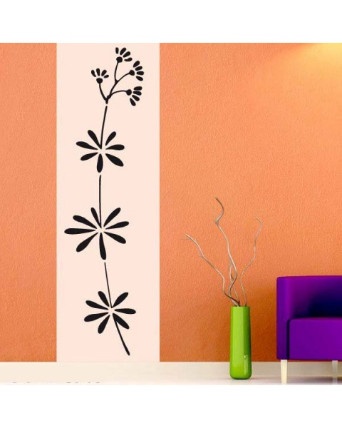Флора Уаилд - декоративен стикер за стена