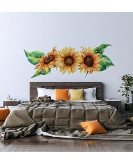 Фриз слънчогледи