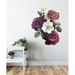 Букет трендафили и цветове