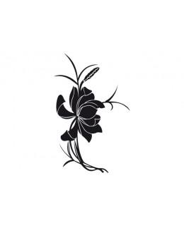 Азиатско цвете за стена