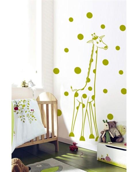 Жираф на точки