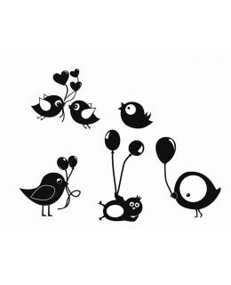 Птичета с балони