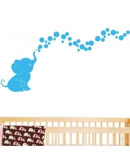 Слонче с балончета