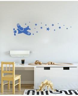 Самолетче със звезди