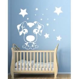 Сладко кученце и звезди