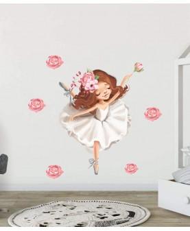 My tutu - Балерина 1, стикер за стена