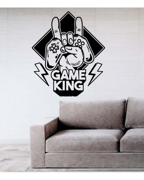 Надпис Game King