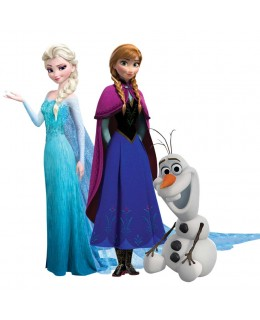 Елза и Ана и Олаф