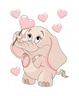 Слонче със сърчица