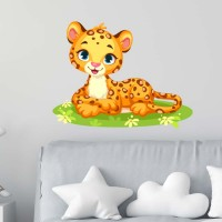 Леопардче бебе - стикер за стена