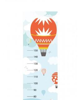 Метър за стена - Полет с балон