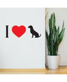 Аз обичам кучета