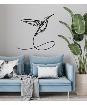 Колибри - One line art