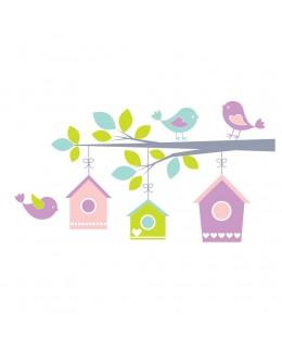Весели птички на клонче