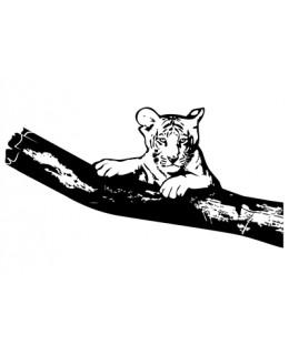 Тигър на клон