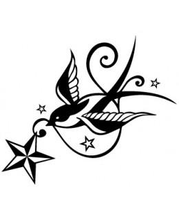 Лястовичка и звезда