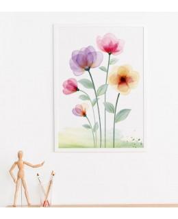 Цветя Пиня Колада - Картина