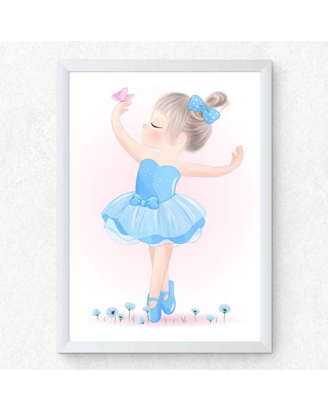 Let's Go Out - Открит балет 3, постер с рамка