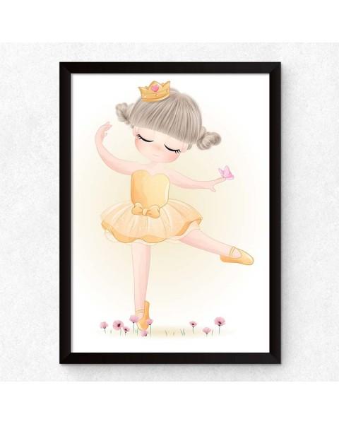 Let's Go Out - Открит балет 2, постер с рамка