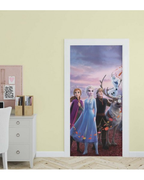 Frozen Friends - стикер за врата