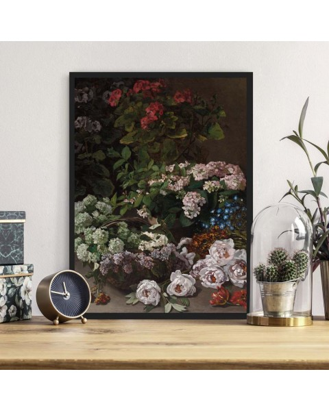 Цветя - Репродукция, Клод Моне