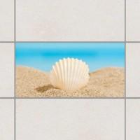 Морски бряг - деко стикери за плочки