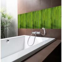 Бамбук Green - 4 бр. деко стикери за плочки