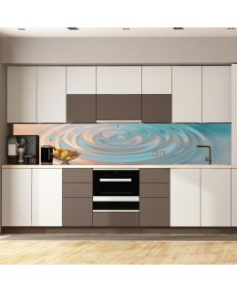 Водна повърхност 2 - гръб за кухня