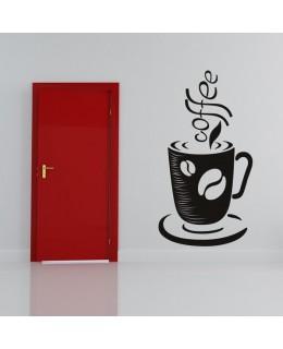 Чаша с надпис кафе