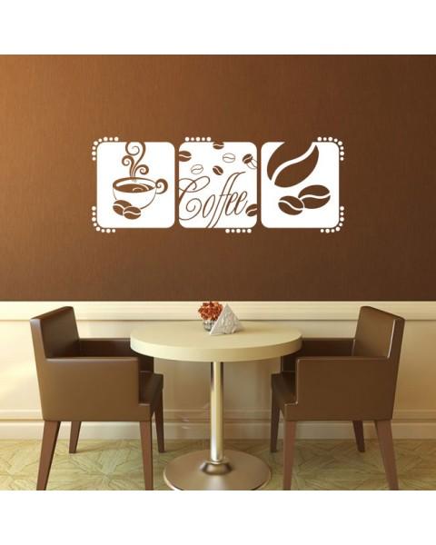 Триптих с кафе