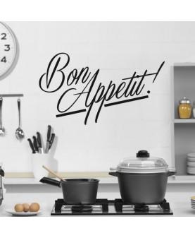 Красив надпис Bon Appetit