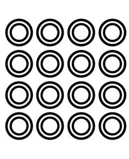 Двойни концентрични кръгове