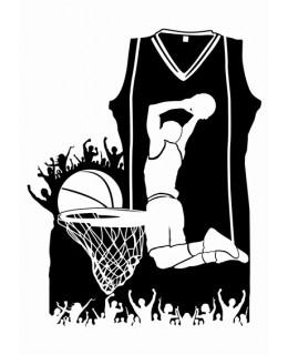 Баскетбол - колаж