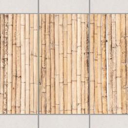 Бамбук Light - 4 бр. деко стикери за плочки