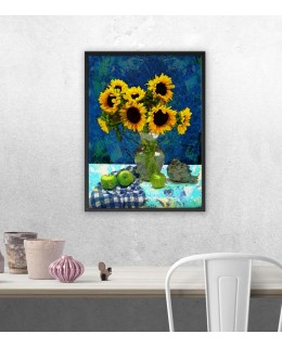 Слънчогледи - Картина