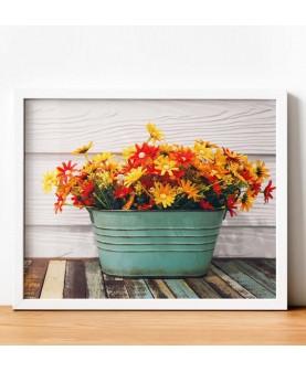 Колоритни цветчета - Картина