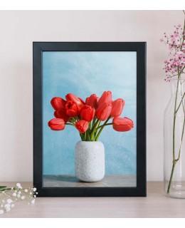 Червени лалета - Картина