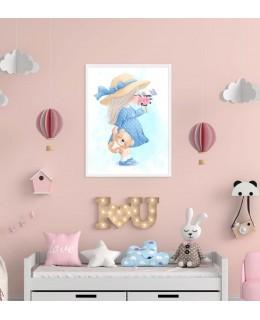 Let's Go Baby - Разходка, постер с рамка