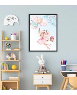 My tutu - Балерина 2, постер с рамка