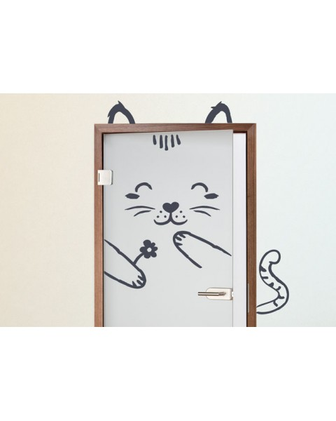 Котка за врата