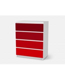 Скрин в червено