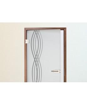 Плетена вълна - 2 бр. стикери за врата